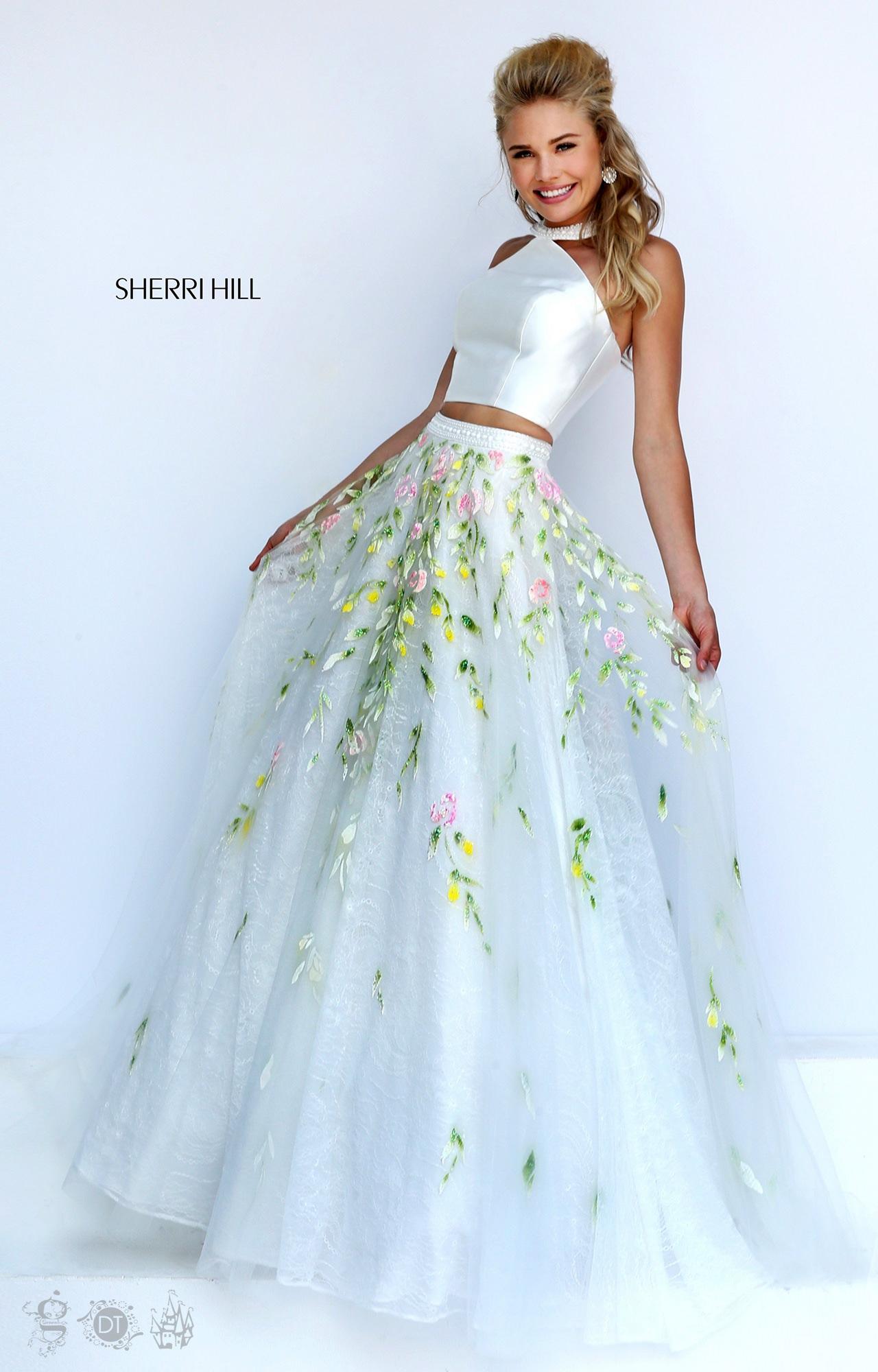 Sherri Hill 50196 - The Garden Party Dress Prom Dress