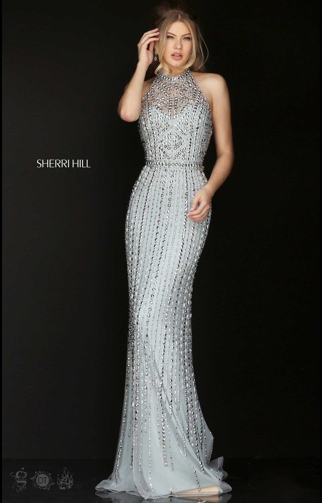 Sherri Hill 50248 Studded Stunner Dress Prom Dress