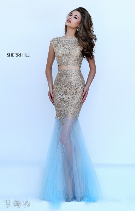 Sherri Hill 50301 Invisible Goddess Dress Prom Dress