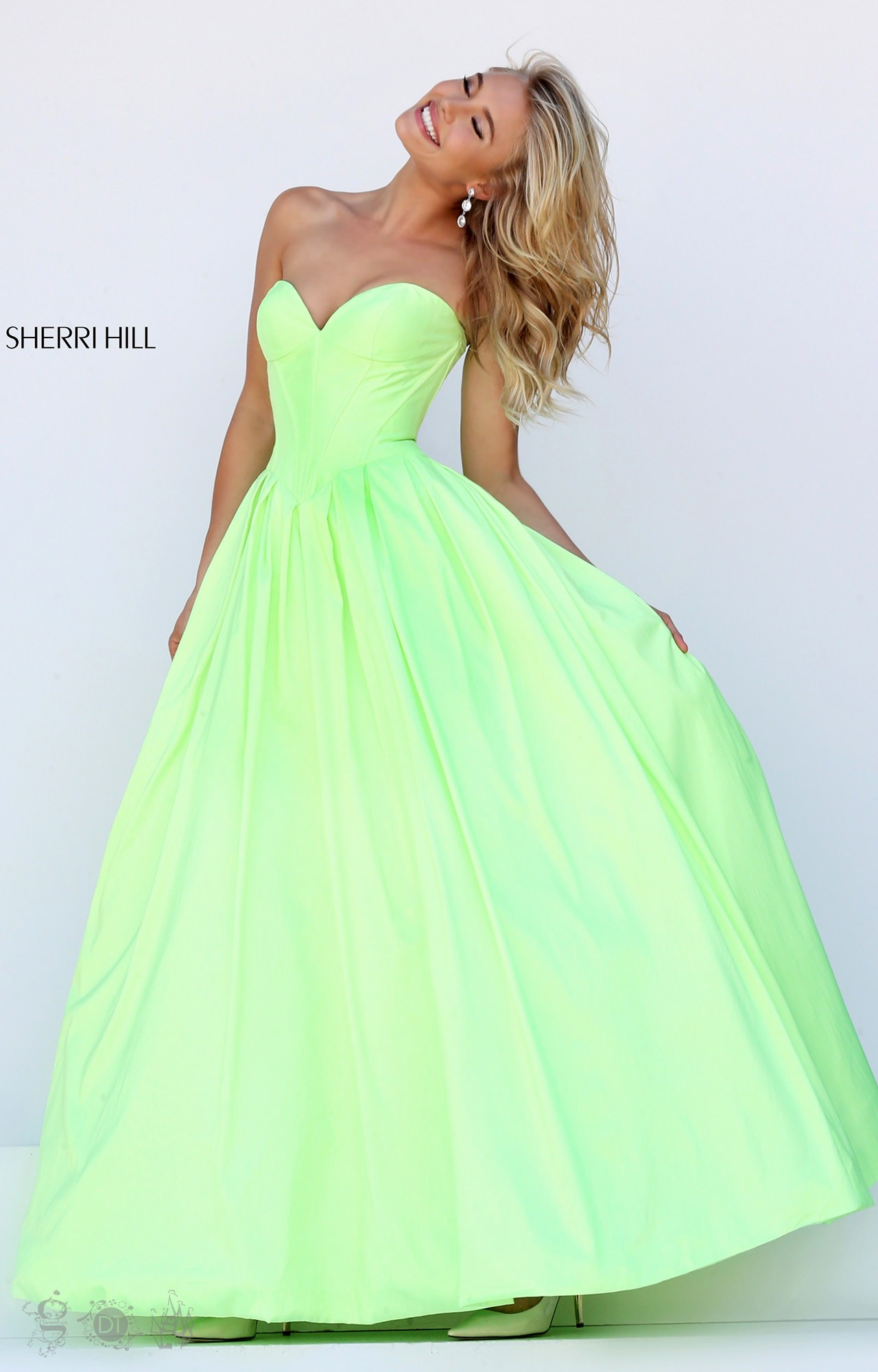Sherri Hill 50406 80s Glam Dress Prom Dress