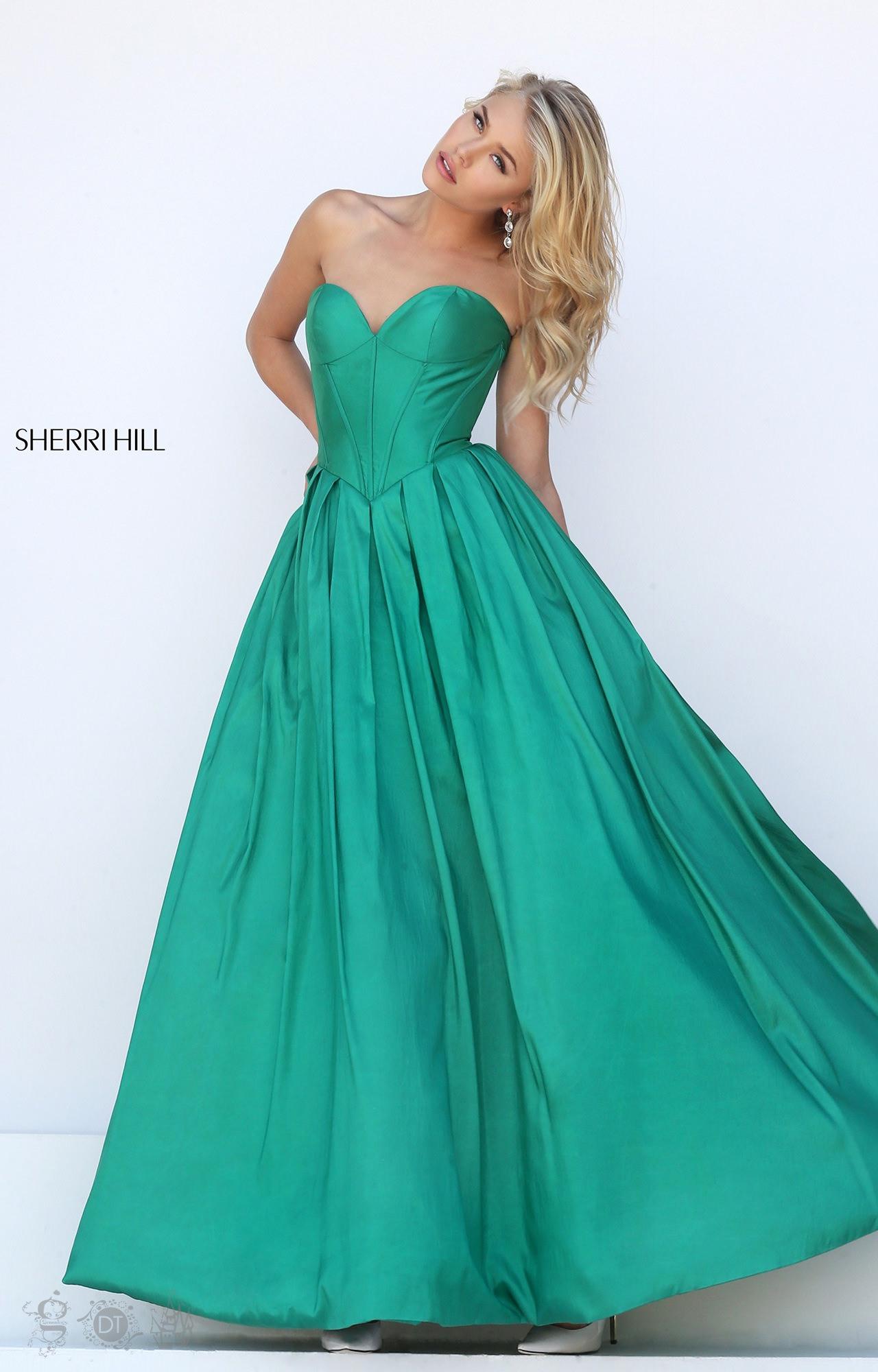 Sherri Hill 50406 80s Glam Dress Prom Dress