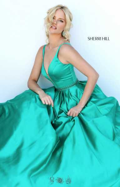 Sherri Hill 50496 Has Straps picture 1