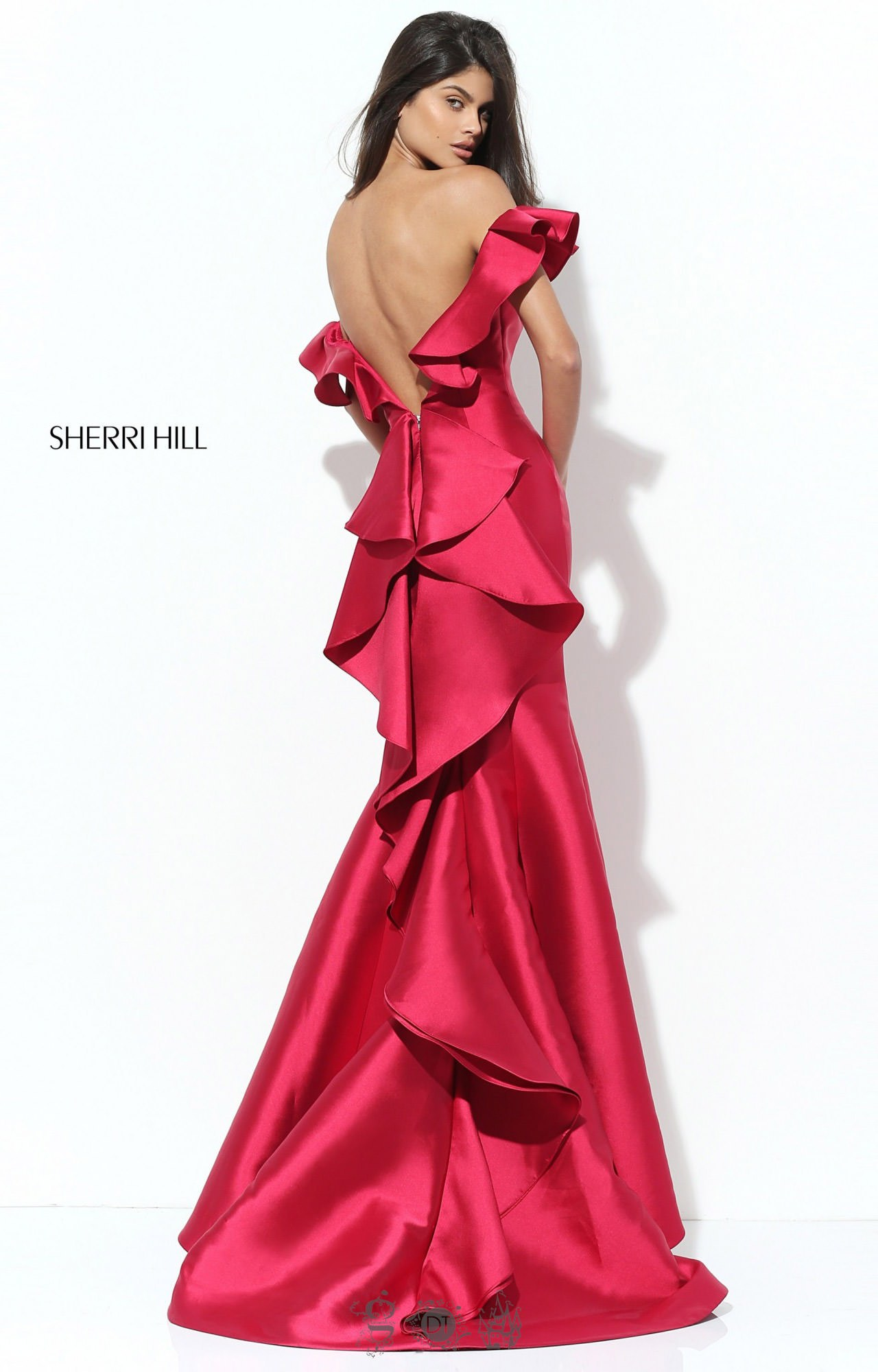 Sherri Hill 50576 Off The Shoulder picture 1