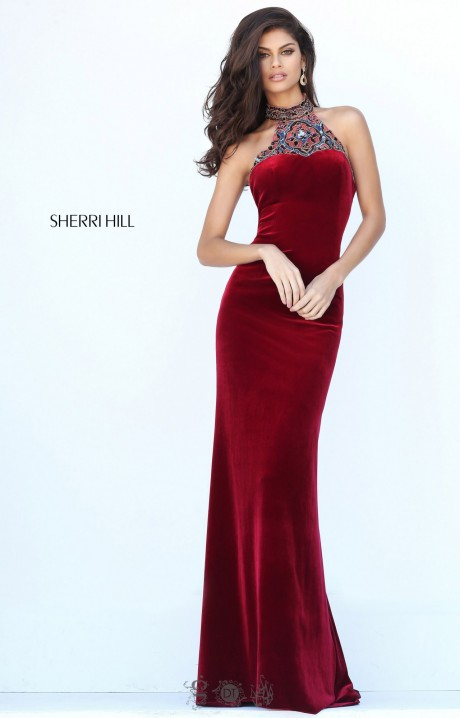 Red dress guess 653