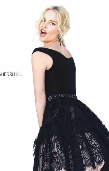Sherri Hill 50635 Off The Shoulder picture 1