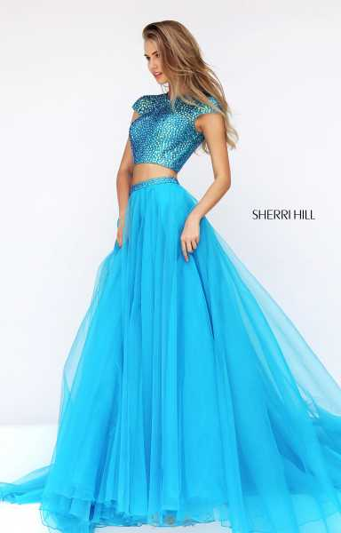 Sherri Hill 50561 A-Line and Two Piece picture 2