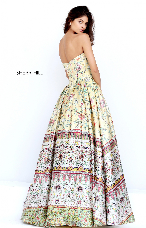 Sherri Hill 50797 Long Ball Gown Strapless Sweetheart