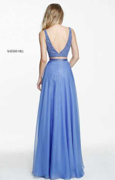 Sherri Hill 50800 Has Straps and V-Shape picture 1