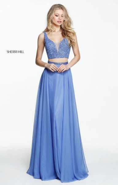 Sherri Hill 50800 A-Line and Two Piece picture 2