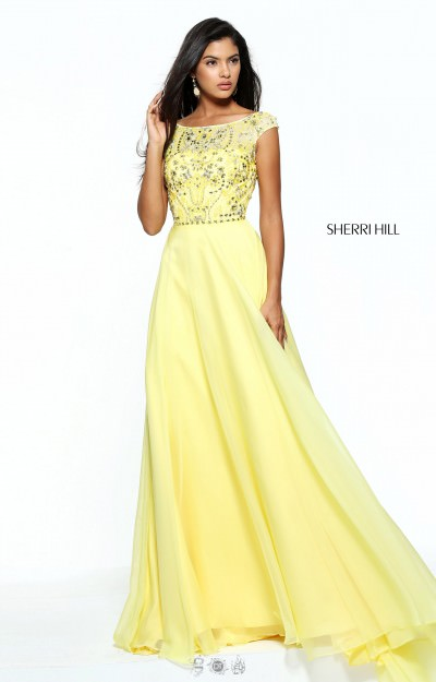 Yellow Dresses  Yellow Prom Dresses  Sexy Homecoming Cheap