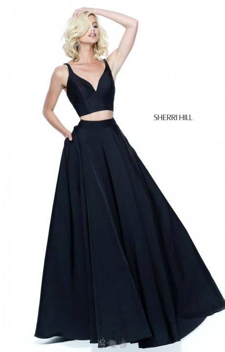 Black Two Piece Dress