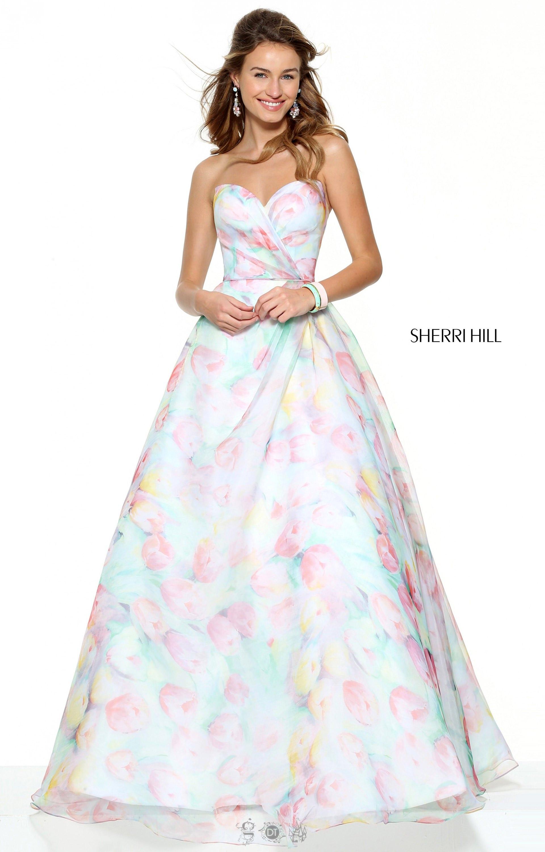 Sherri Hill 50934 - Tulips and Pastels Ballgown Prom Dress