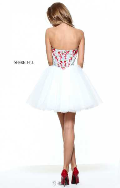 Sherri Hill 50983 Strapless and Sweetheart picture 1
