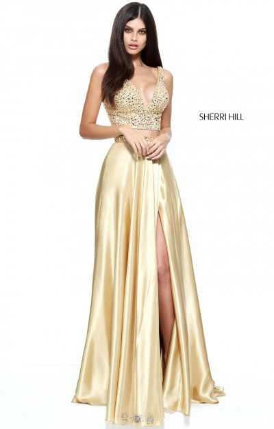 Gold Formal Dresses | Prom, Homecoming, Long or Short