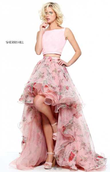 Sherri Hill 51098 Two Piece and A-Line picture 2