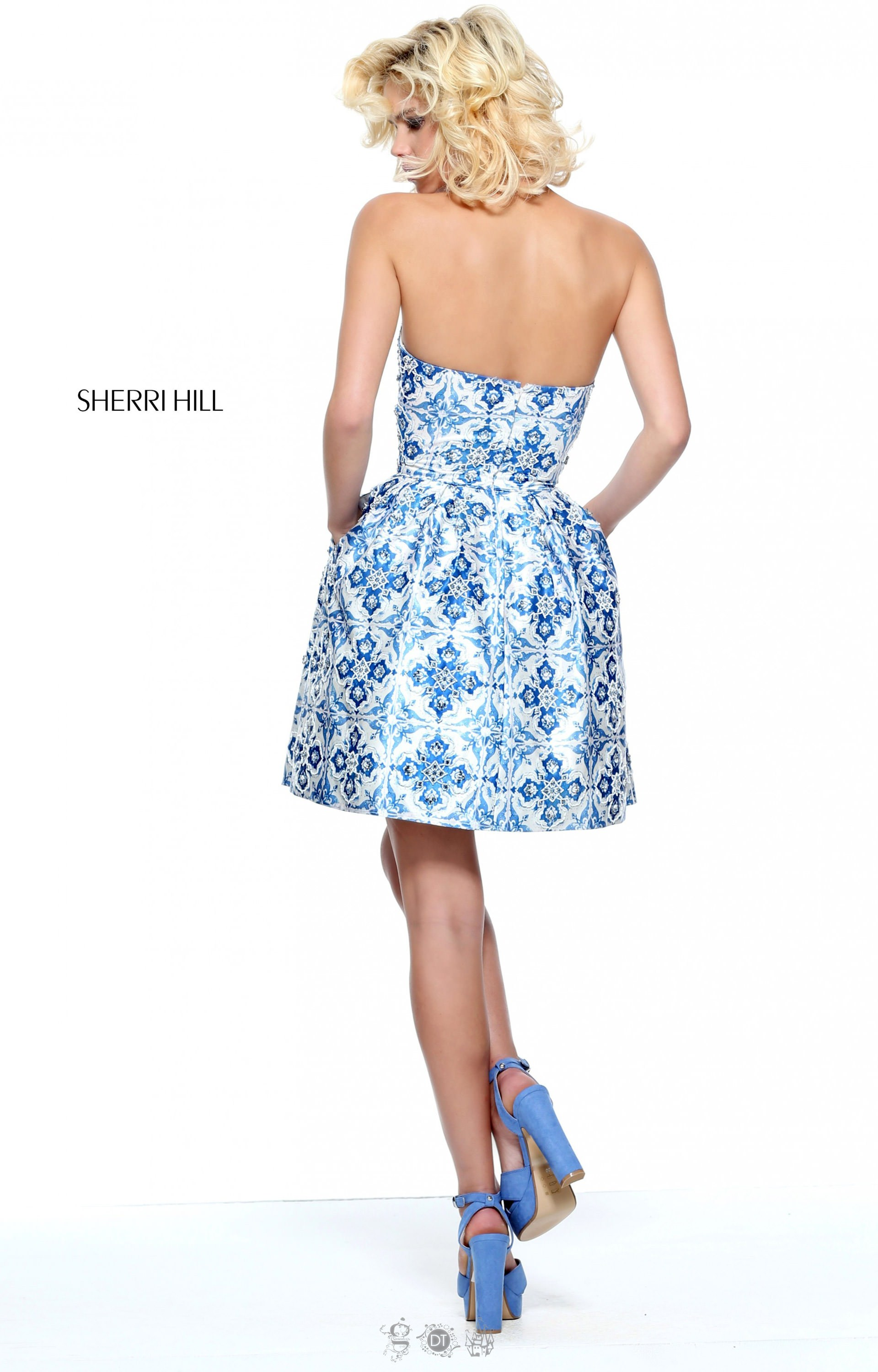 Short Cocktail Dresses With Pockets 58