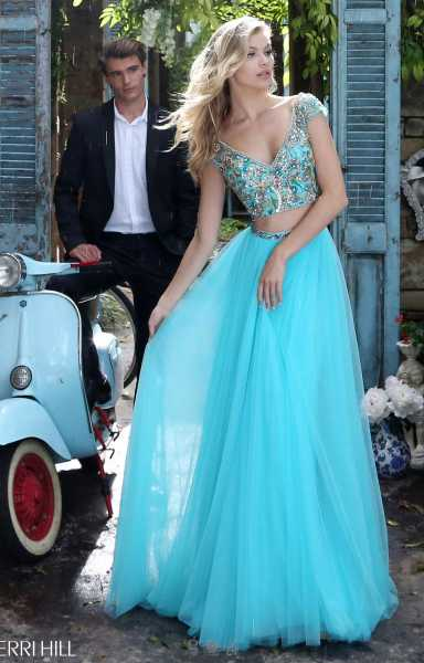 Sherri Hill 51166 A-Line and Two Piece picture 2