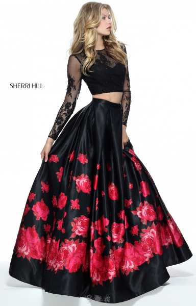 Sherri Hill 51195 High Neck picture 1