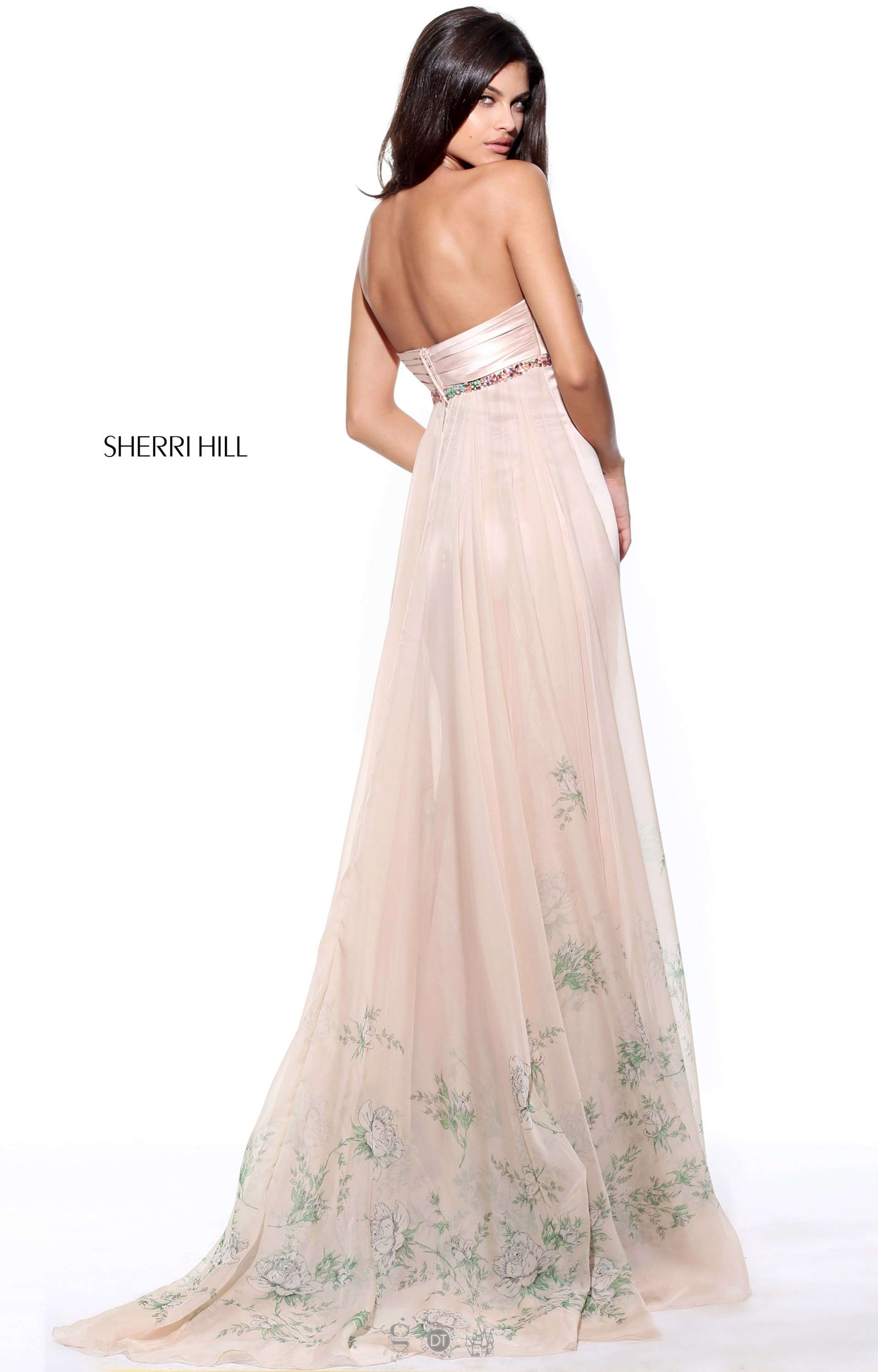 Sherri Hill 51210 Strapless and Sweetheart picture 1