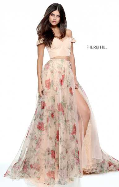 Sherri Hill 51214 Off The Shoulder picture 1