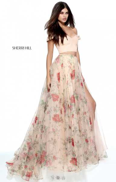 Sherri Hill 51214 A-Line and Two Piece picture 2
