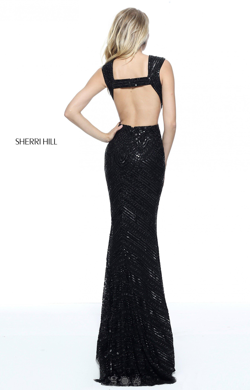 c1286d9e8b Sherri Hill 51245 - Sexy Cut Out Beaded Dress