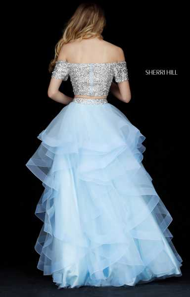 Sherri Hill 51272 Off The Shoulder picture 1