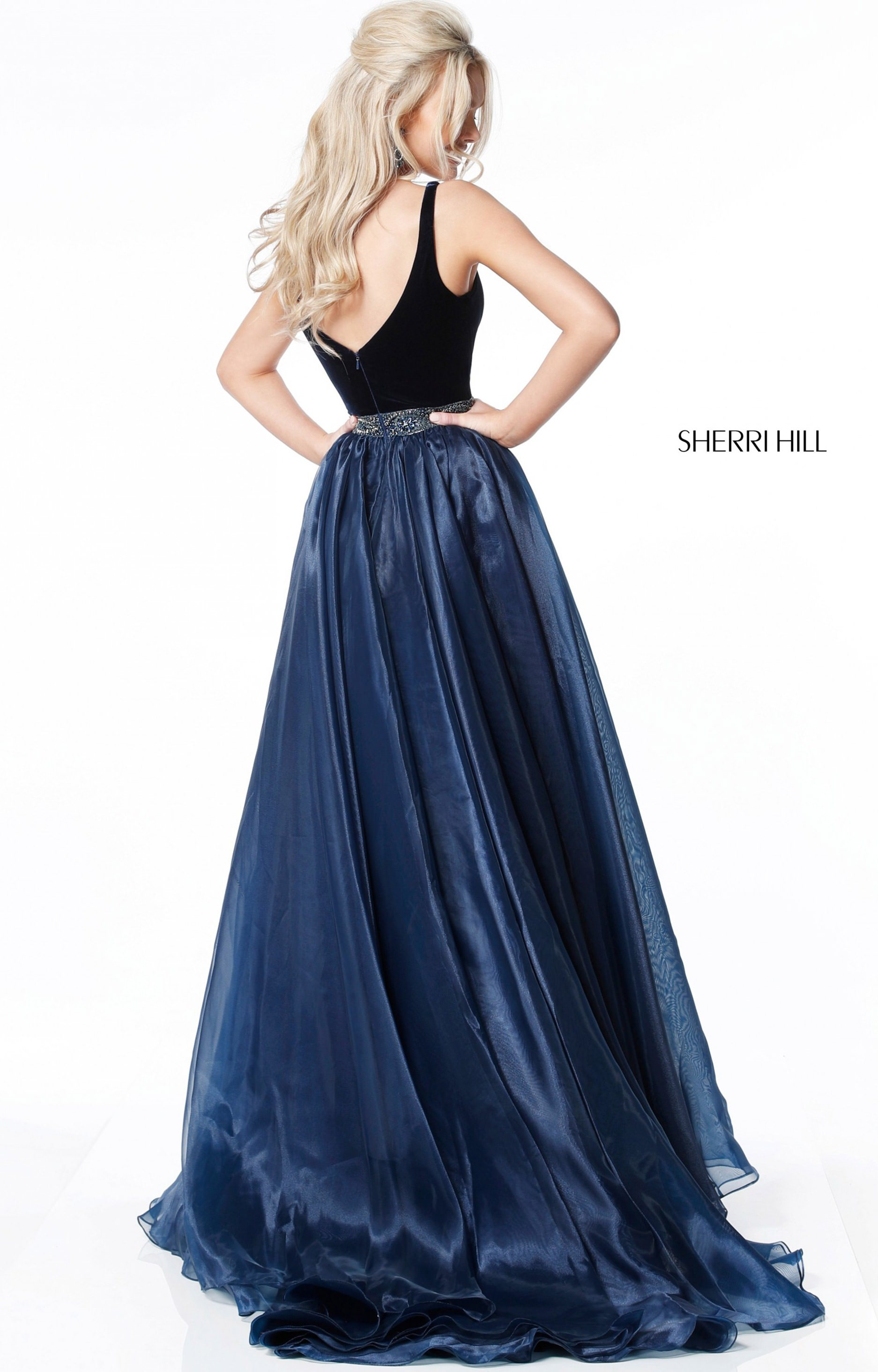 Sherri Hill 51409 With Straps picture 1
