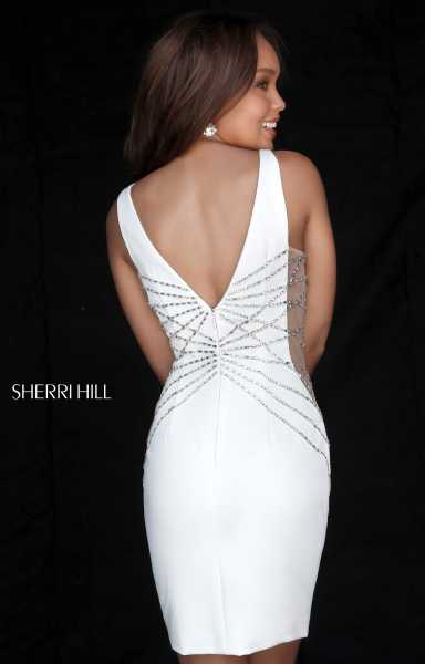 Sherri Hill 51440 Has Straps and V-Shape picture 1