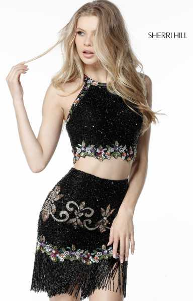 Sherri Hill 51476 Fitted and Two Piece picture 2