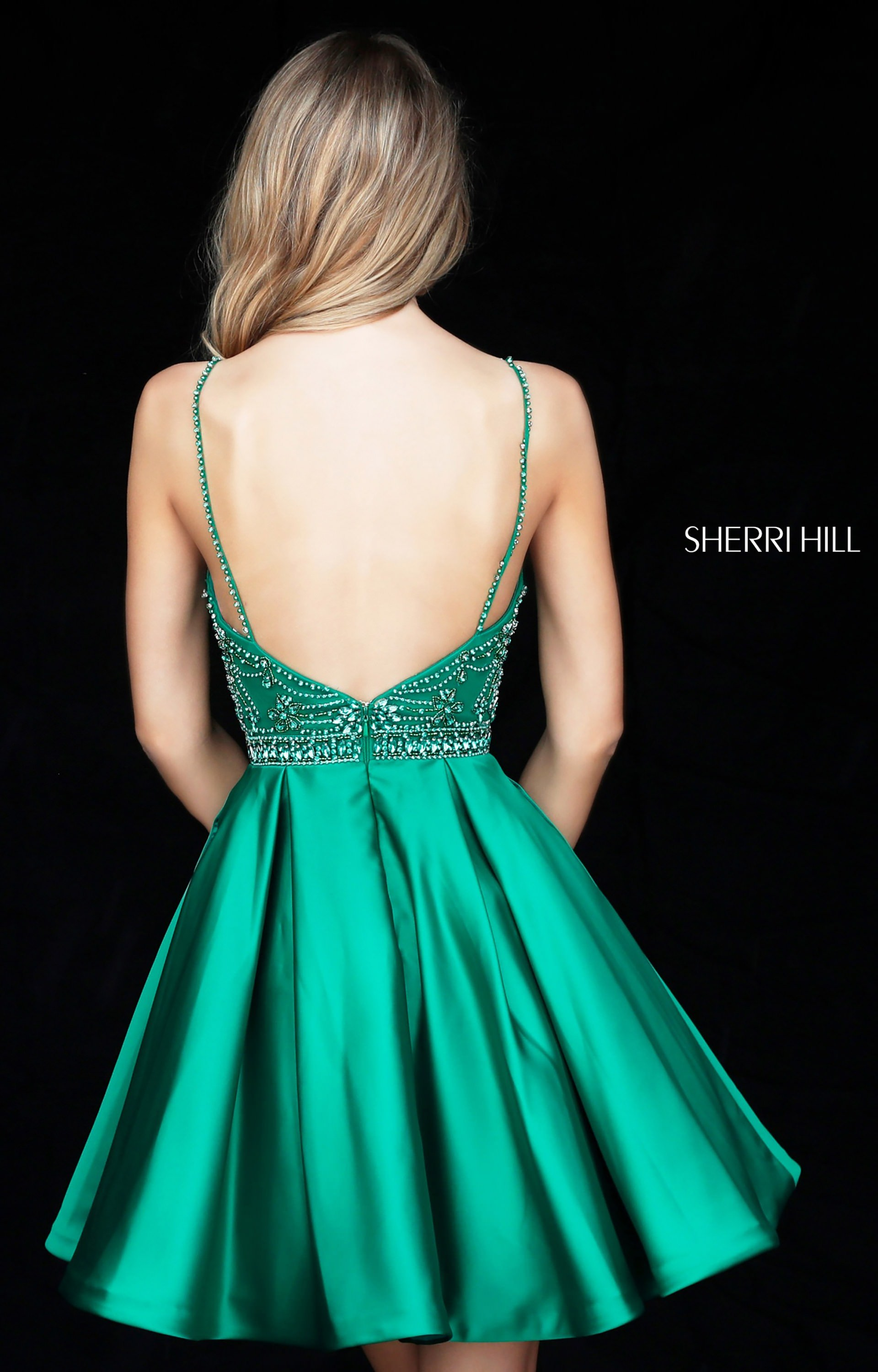 Sherri Hill 51504 High Neck and With Straps picture 1