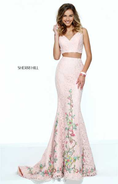 Sherri Hill 50778 Two Piece and Mermaid picture 2