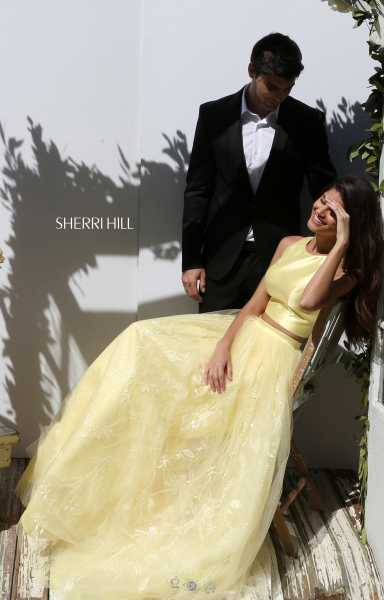 Sherri Hill 50787 Two Piece and A-Line picture 2