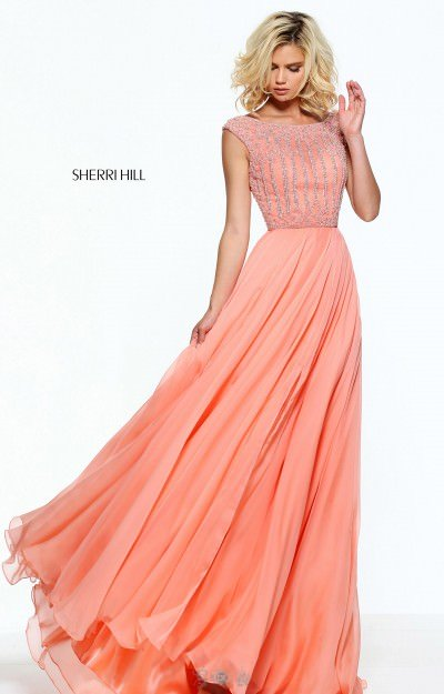 Cap Sleeve Dress with Chiffon Skirt