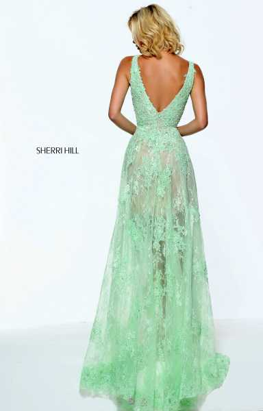Sherri Hill 50985 Has Straps picture 1