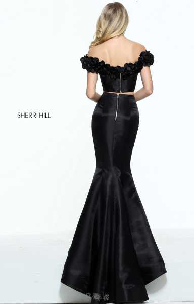Sherri Hill 51028 Off The Shoulder picture 1