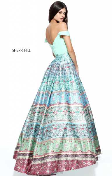 Sherri Hill 51204 Off The Shoulder picture 1