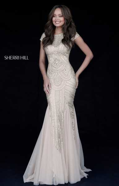 Sherri Hill 51426 High Neck picture 1