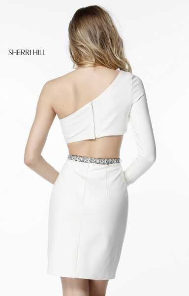 Sherri Hill 51444 One Shoulder picture 1