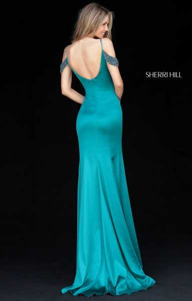 Sherri Hill 51541 Off The Shoulder and Has Straps picture 1