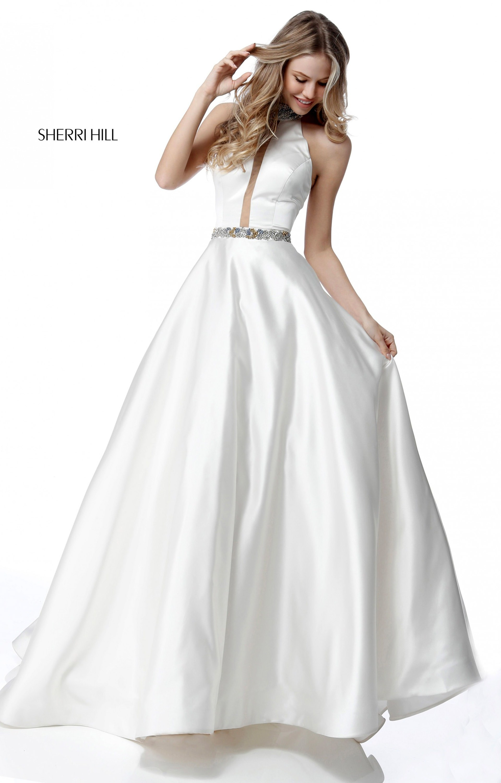 eec3ec5ac84 Sherri Hill 51589 Halter picture 1 · Sherri Hill 51589 Ball Gowns ...