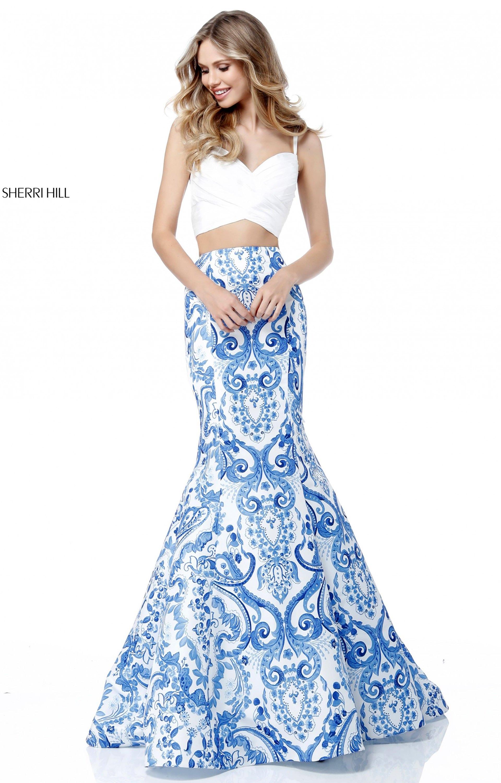 40f0f4b45e09 White 2 Piece Formal Dresses