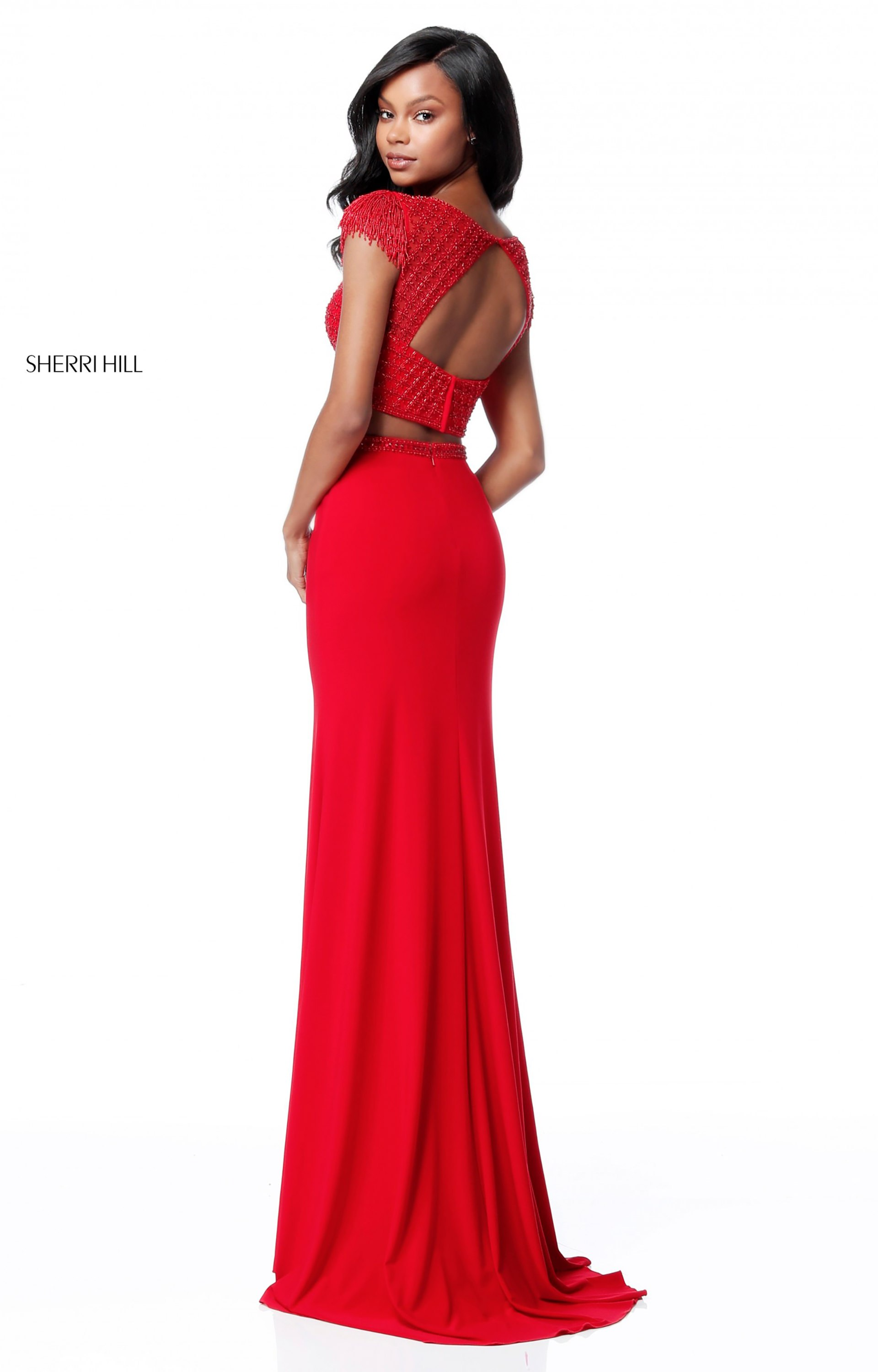 Sherri Hill 51691 High Neck picture 1 · Sherri Hill 51691 Fitted and Two  Piece ...