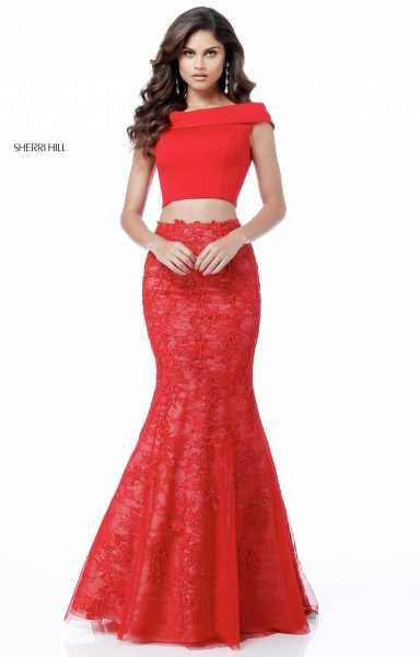 Sherri Hill 51730 Fitted and Two Piece picture 2