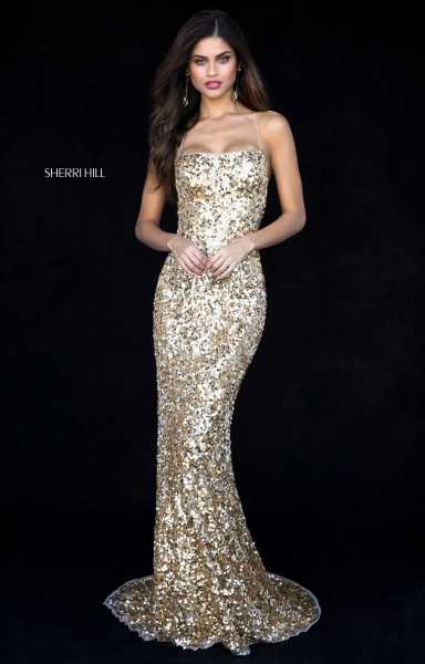 Sherri Hill 51783 Has Straps picture 1