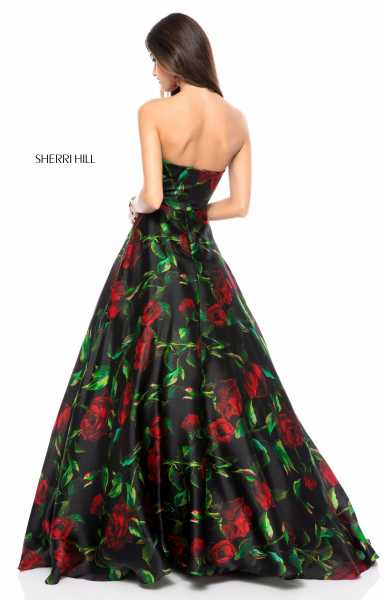 Sherri Hill 51803 Strapless and Sweetheart picture 1