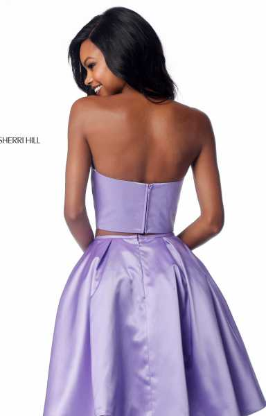 Sherri Hill 51823 Strapless picture 1