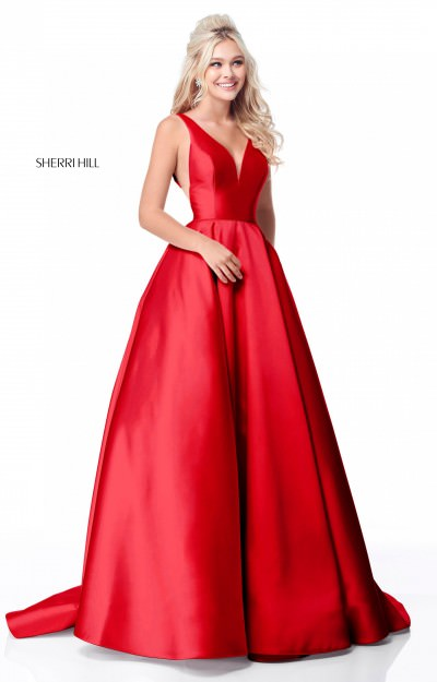 Red Pageant Dresses