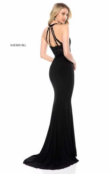 Sherri Hill 51899 High Neck picture 1