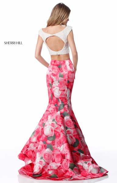 Sherri Hill 51927 Off The Shoulder picture 1